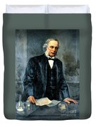 Joseph Lister, Surgeon And Inventor Duvet Cover