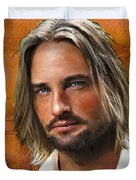 Josh Holloway Duvet Cover