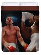 Joshua Klitschko Tko Duvet Cover