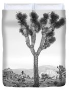 Joshua Tree Before Storm Duvet Cover