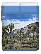 Joshua Tree National Park Landscape Duvet Cover
