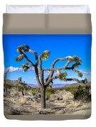Joshua Tree National Park Winter's Day Duvet Cover