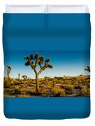 Joshua Tree Panoramic Duvet Cover