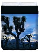Joshua Tree Sunset Skies Duvet Cover