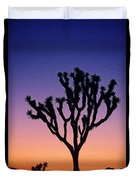 Joshua Tree With Special Effects Duvet Cover