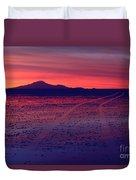 Journey In A Purple Dreamland Duvet Cover