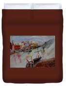 Journey On Waters Duvet Cover