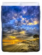 Journey To The Sunset Duvet Cover