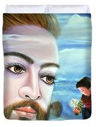 Journey With Jesus Duvet Cover