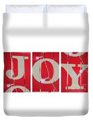 Joy Lights Up My Life Duvet Cover
