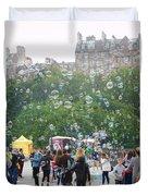 Joy Of Bubbles Duvet Cover