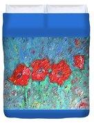 Joy Of Poppies Duvet Cover