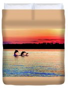 Joy Of The Dance Duvet Cover