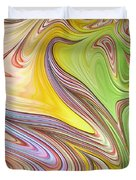 Joyful Flow Duvet Cover