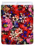 Joyful Flowers Duvet Cover
