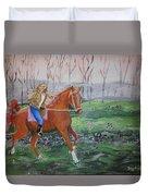Joyful Ride Duvet Cover