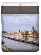 Joyful River Duvet Cover