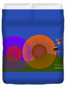 Joyful Shapes Duvet Cover
