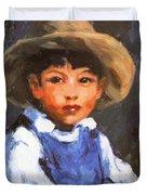 Juan Also Known As Jose No 2 Mexican Boy 1916 Duvet Cover