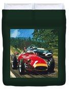 Juan Manuel Fangio Duvet Cover