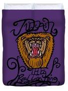 Judah The Real Lion King Duvet Cover