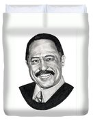 Judge Joe Brown Duvet Cover
