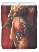 Judith Leaving The Tent Of Holofernes 1500 Duvet Cover