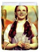 Judy Garland, Dorothy Duvet Cover