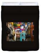 Juegos In Guanajuato Duvet Cover