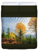 Jughandle Mountain Duvet Cover