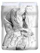 Jiu Jitsu Fundamentals The Armbar Duvet Cover