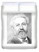 Jules Verne Duvet Cover