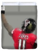 Julio Jones Duvet Cover
