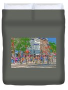 July 4th Color Guard Duvet Cover