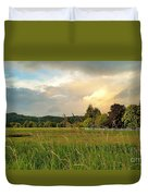 Sunset After Storm Duvet Cover
