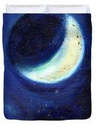 July Moon Duvet Cover