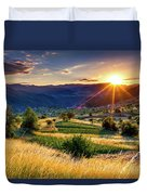 July Sun Duvet Cover