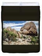 Jumbo Rocks Duvet Cover