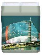 Jumeirah Beach Hotel Duvet Cover