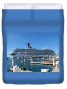 Jump Aboard Duvet Cover