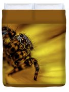 Jumping Spider Duvet Cover