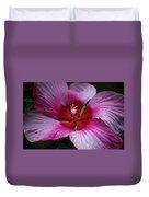 Junes Hibiscus 1 Duvet Cover