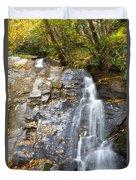 Juney Whank Falls In Nc Duvet Cover