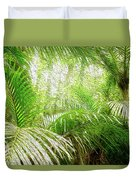 Jungle Abstract 1 Duvet Cover