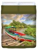 Jungle Boat Duvet Cover