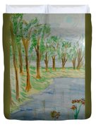 Jungle-brookside Duvet Cover