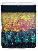Jungle Fire Duvet Cover