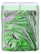 Jungle Flora Duvet Cover