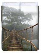 Jungle Journey 2 Duvet Cover by Skip Nall