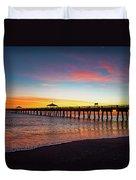 Juno Pier Colorful Sunrise Duvet Cover